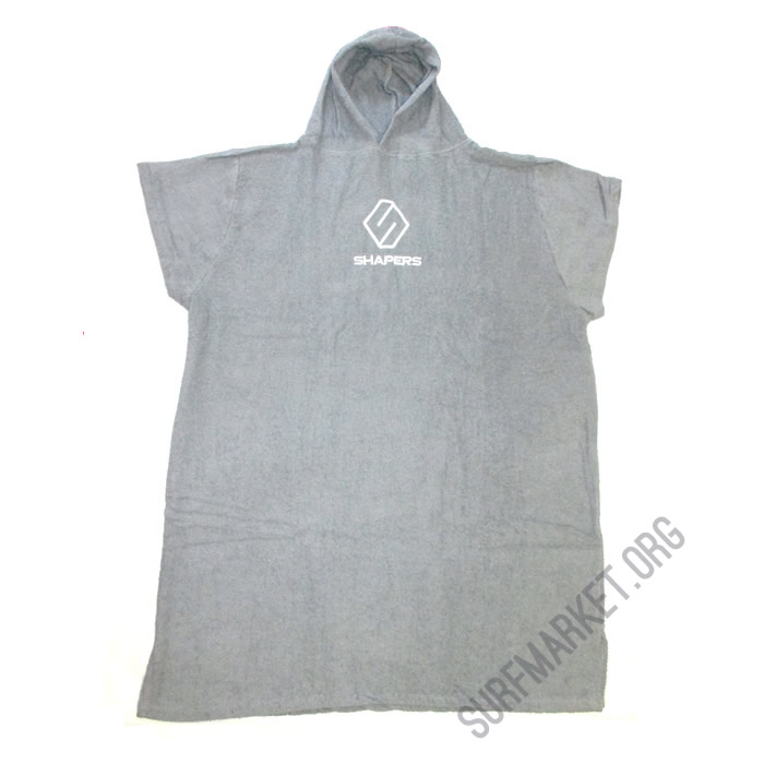 Poncho  Shapers Grey