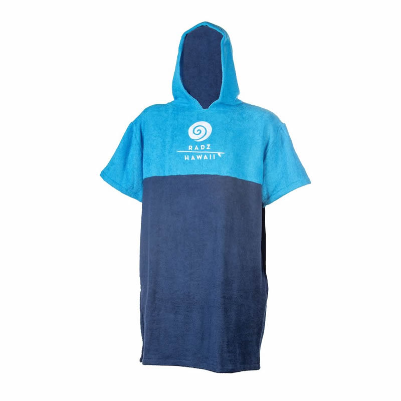 Poncho    Kid Radz Hawaii Blue Navy