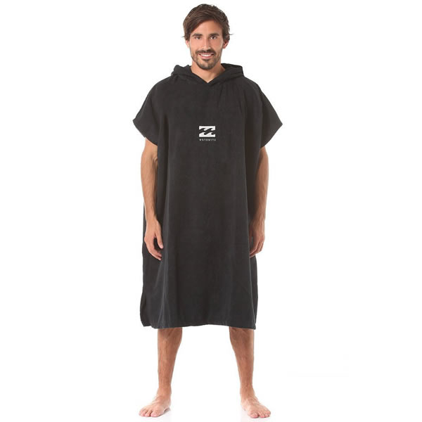 Poncho Billabong Black