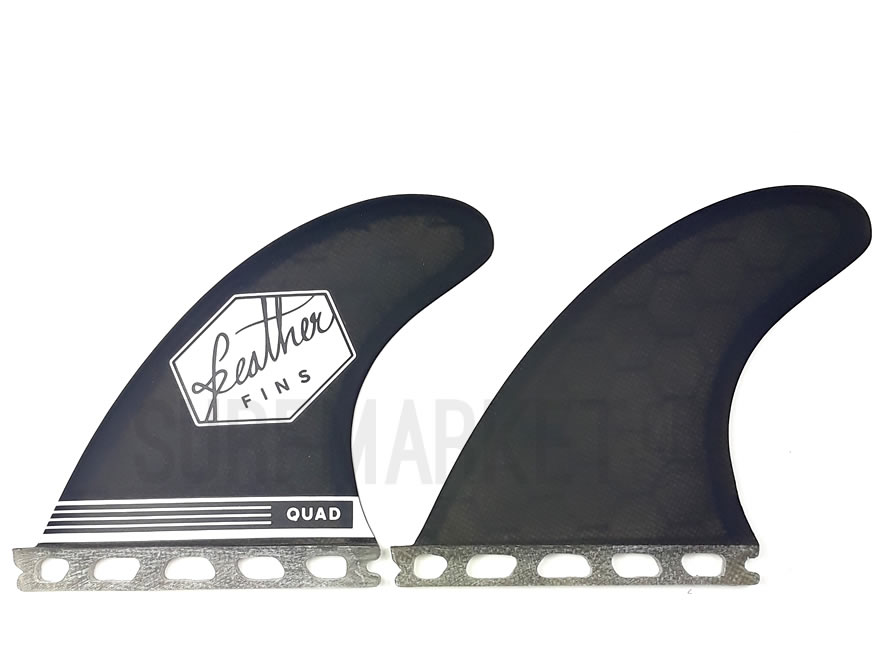 Quillas Feather   Fins Quad Rear