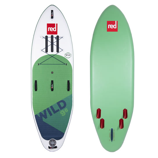 Red   Paddle Co 2020 Wild 9'6''