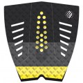 PAD-DE-SURF-3-PIECES-MADNESS-LANE-COLORTAIL-BLACK-YELLOW