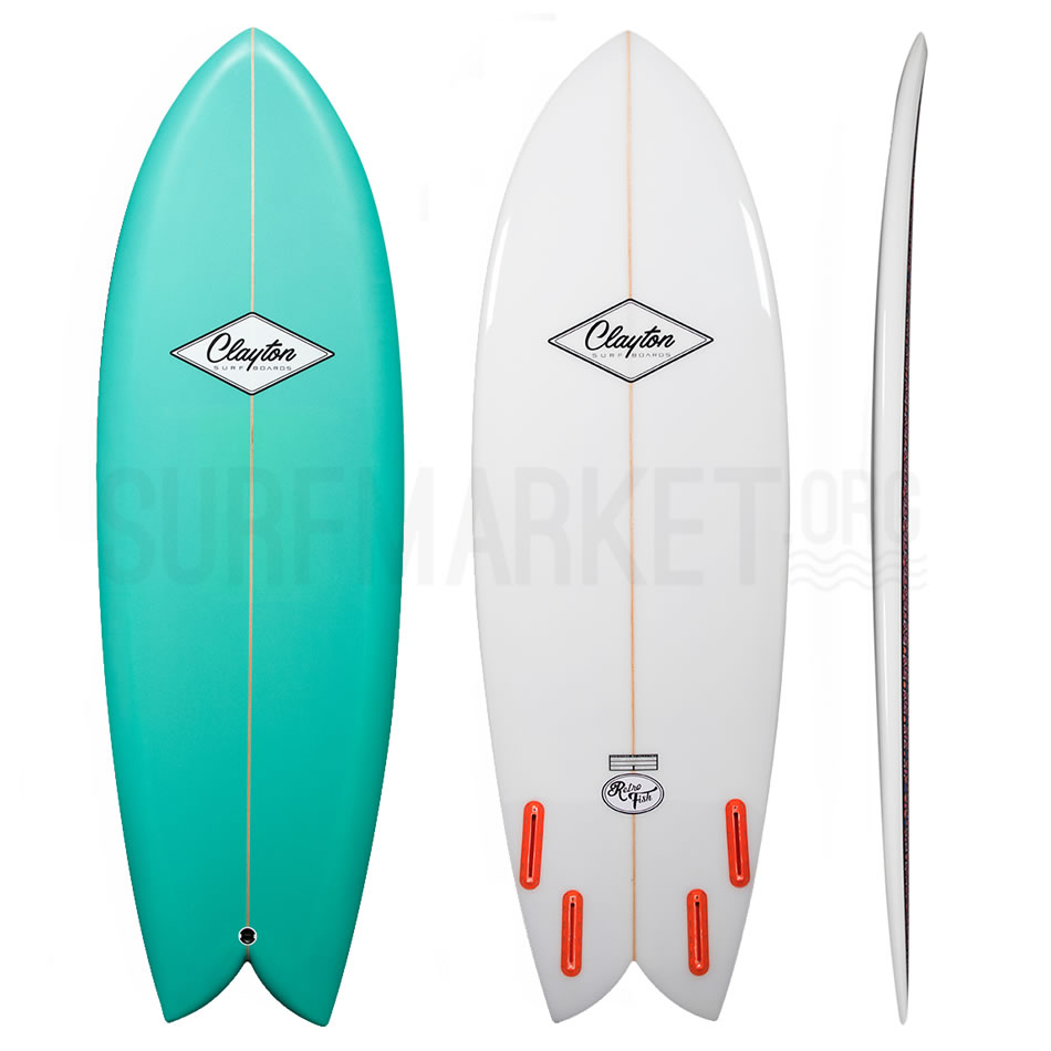 Clayton    Surfboards The Retro Fish