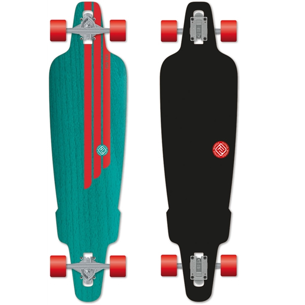 Flying Wheels 38.5''  Rig Teal