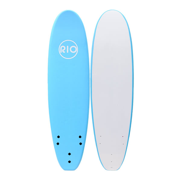 6'0''       Softboard Alder Rio Soft Blue