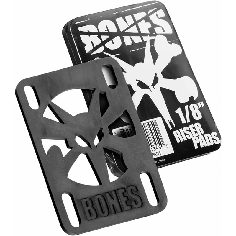 Risers Bones 128 Pop Black