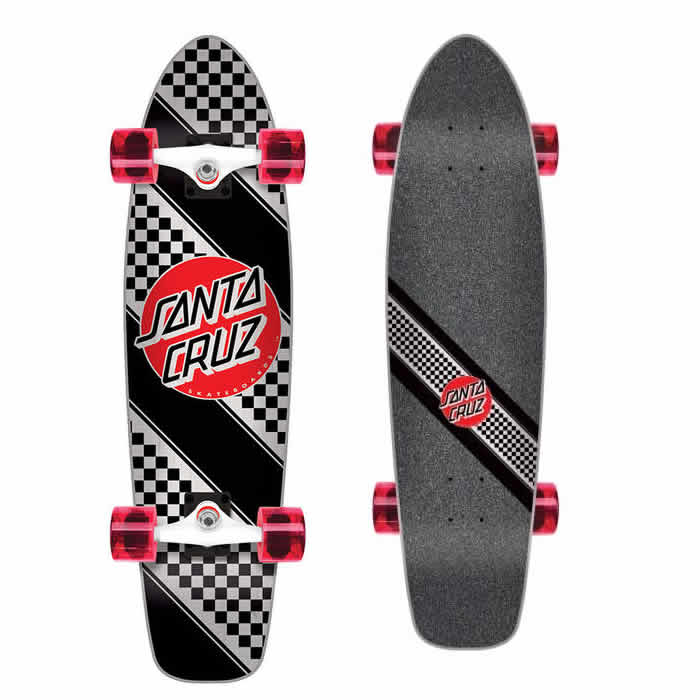 Santa Cruz Check Stripe Jammer