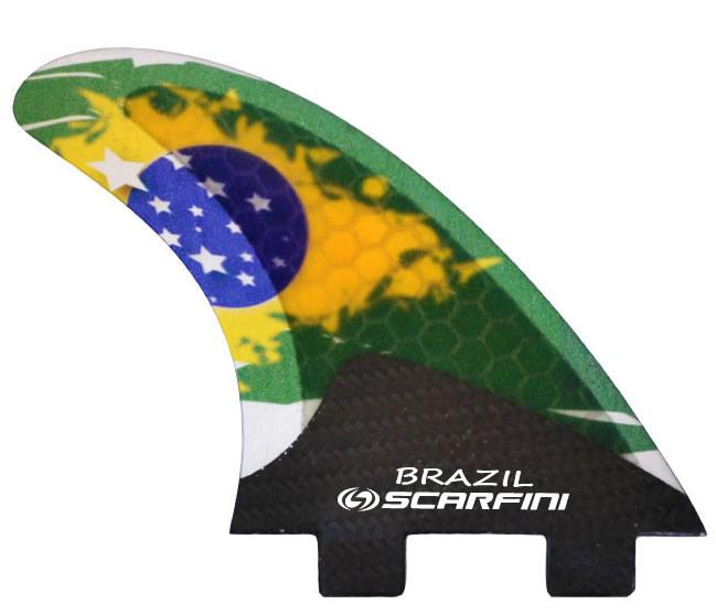Quillas Scarfini Brazil Flag Carbon