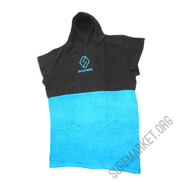 Poncho  Shapers Blue Black
