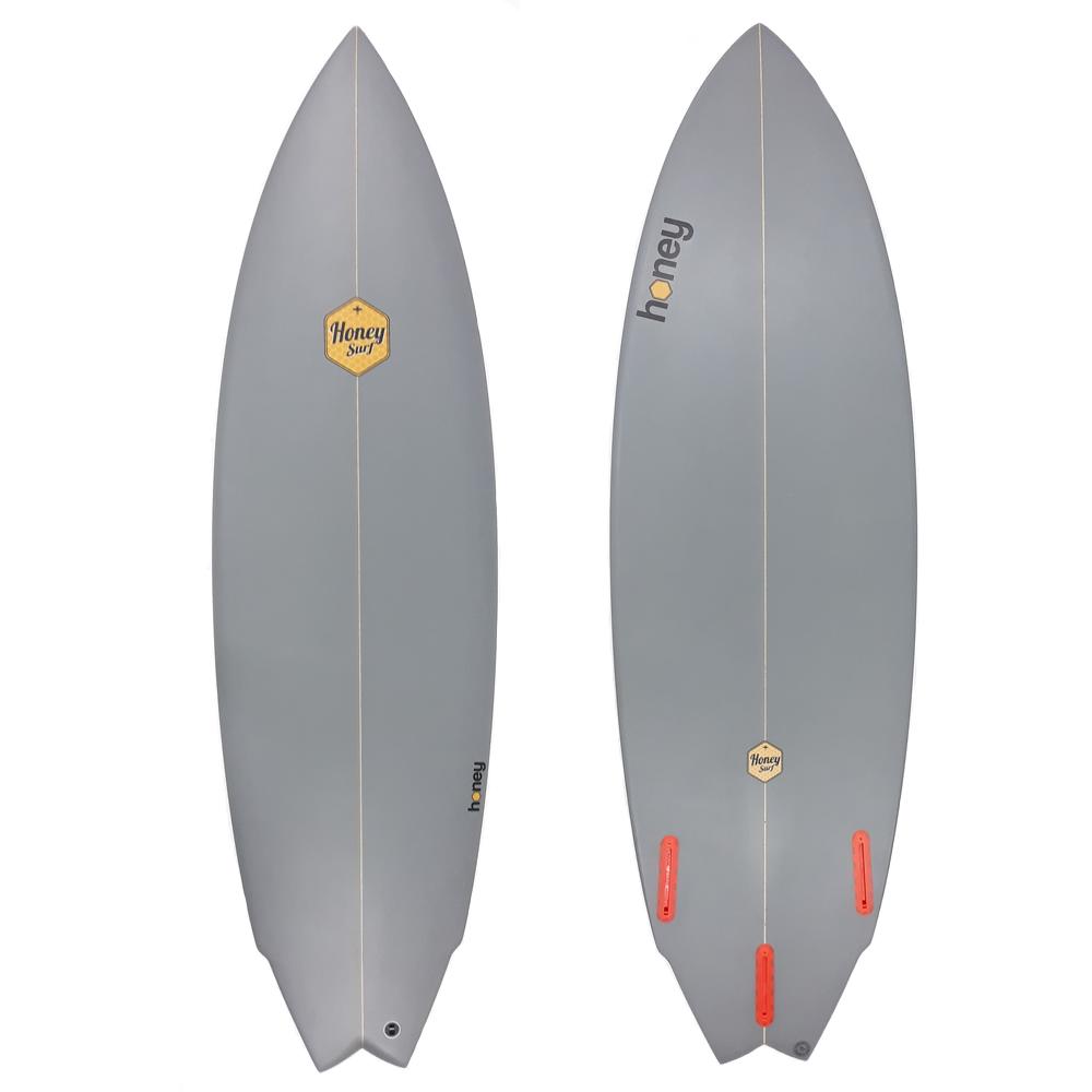Honey    Surfboards Twin Fin