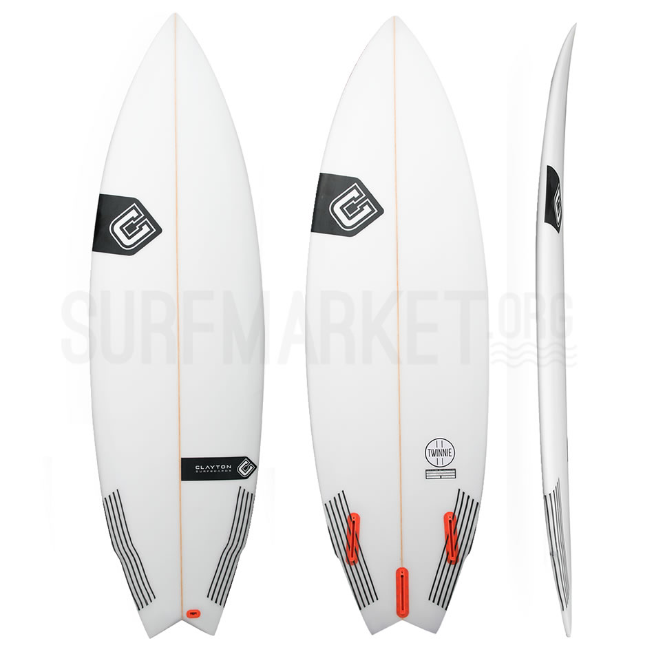 Clayton Surfboards The Twinnie