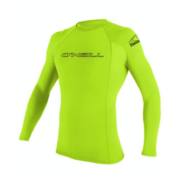 O'Neill  Basic Skins L/S Hombre Lime