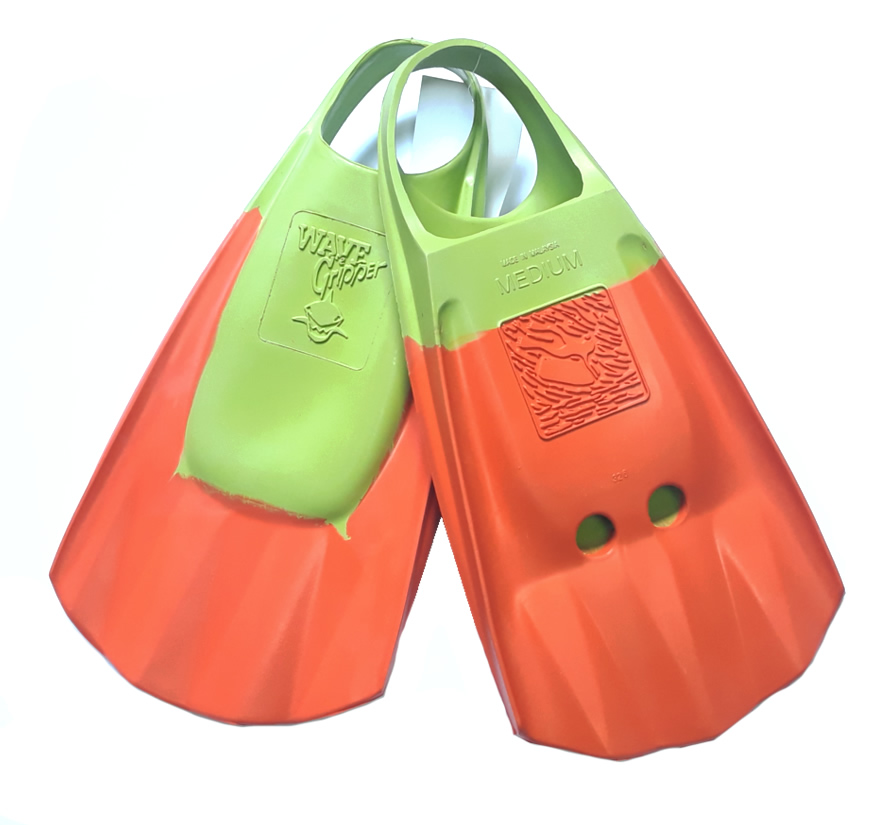 Aletas Wave Gripper Orange Lima