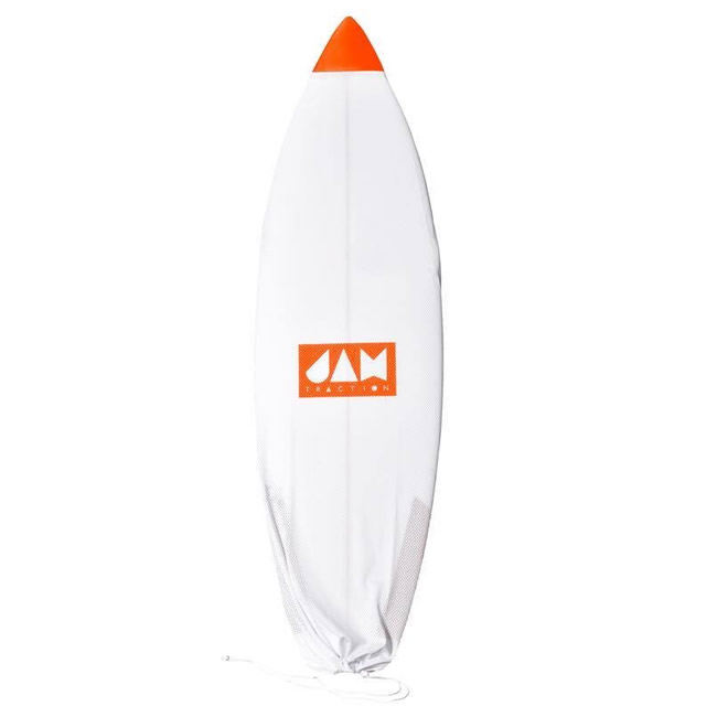 Calcetín Surf Air Jam White Orange