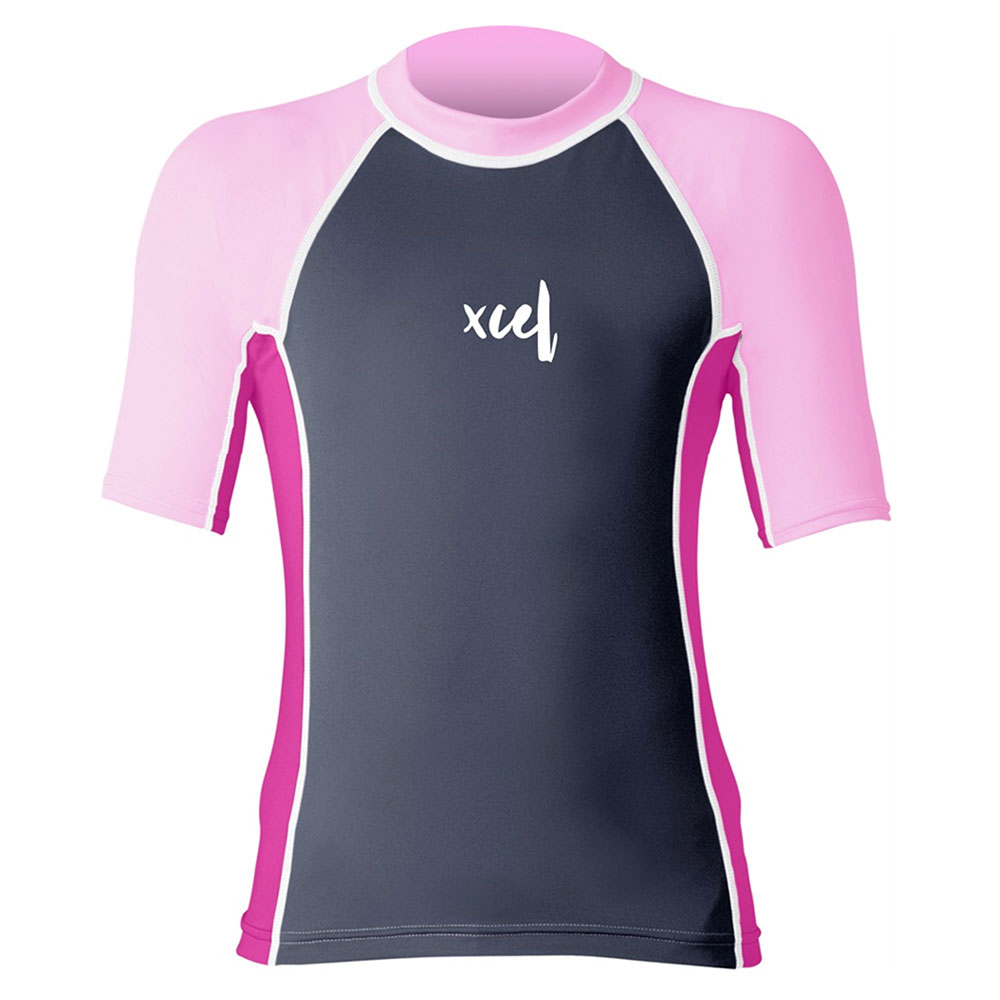 Xcel     Girls Short Sleeve UV Laguna
