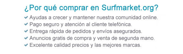 Comprar quillas surf tabla Indio softboards
