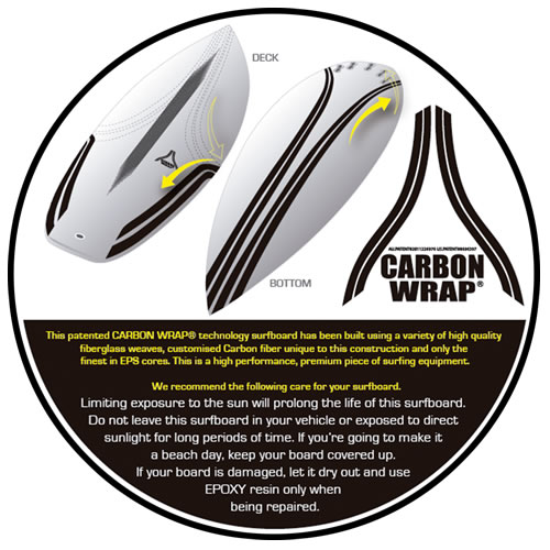 Lost surfboards Carbon Wrap